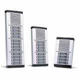 Unidade Externa Porteiro Eletrônico Coletivo Para 18 Pontos HDL