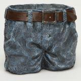 Vaso Resina Short Jeans
