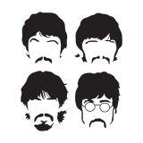 Adesivo De Parede Beatles G Hous For Fun