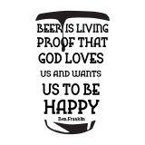 Adesivo De Parede Beer G Hous For Fun