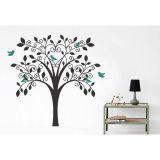 Adesivo de Parede Árvore Galhos Coração 89x60 cm Haus For Fun