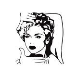 Adesivo de Parede Madonna 74x80 cm Haus For Fun
