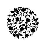 Adesivo de Parede Mandala Recorte I 40x40 cm Haus For Fun