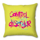 Capa De Almofada Control Disorder 40x40 Haus For Fun