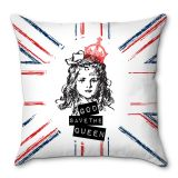 Capa De Almofada God Save The Queen 40x40 Haus For Fun