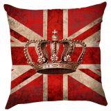 Capa de Almofada Haus For Fun Crown 40 x 40 – Vermelho
