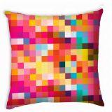 Capa de Almofada Pixels Colorido 40x40 cm Haus For Fun