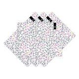 Jogo Americano Geométrico Triangulo Colorido  Haus For Fun