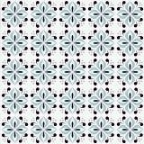 Ladrilho 2D Impressão Floral Azul 2 20x20