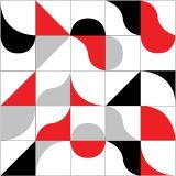 Ladrilho Adesivo Mix Formas 2 Colorido 20x20 Haus for Fun