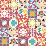 Ladrilho Adesivo Mix Geometrico 1 Colorido 15x15 Haus for Fun