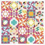 Ladrilho Adesivo Mix Geometrico 1 Colorido 20x20 Haus for Fun