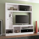 Home Theater Elegance Branco & Preto