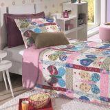 Cobre leito Casal Bouti Farfalla com Porta Travesseiros - Hedrons