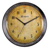 Relógio de Parede Wood White 26x26x4 Herweg