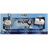 Kit Acessórios para banheiro Hidrolar Inox 5 Peças