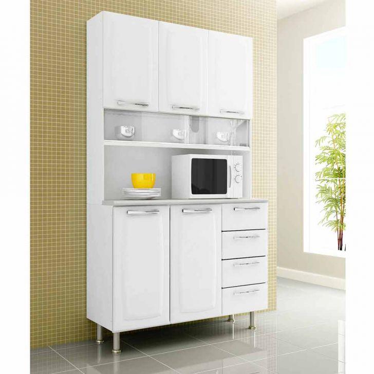 Armário de Cozinha Kit Anita Smart II-5PT-4GV Aço Branco|Itatiaia