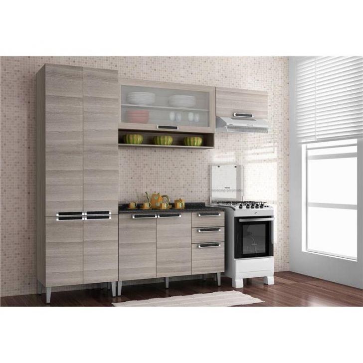 Cozinha Modulada 04 Peças Jazz - Bege DESCONTO DE R$: 1.106,00 (33,00% OFF) - OFERTA MOBLY