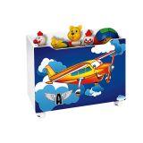 Baú Organizador para Brinquedos Avião - JeA Móveis