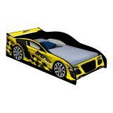 Cama Carro Infantil Speedy Amarelo