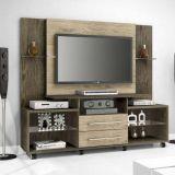 Rack Com Painel Para Tv JB 5500 Teka & Avelã JB Bechara