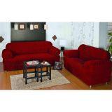 Capa para sofá 3 e 2 Lugares 21 Elásticos JF Confecções