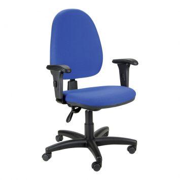 Cadeira de Escritório Cetus Presidente Giratória Azul Jobema Cetus