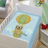 Cobertor Infantil Balão - Jolitex-Azul