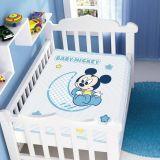 Cobertor Infantil Disney Baby Mickey - Jolitex-Azul