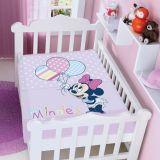 Cobertor Infantil Disney Minnie com Balões - Jolitex-Lilás