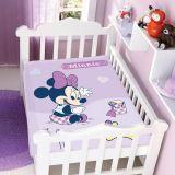 Cobertor Infantil Disney Minnie na Bege - Jolitex-Lilás