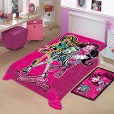 Cobertor Infantil Disney Monster High - Jolitex-Monster High