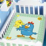 Cobertor Infantil Raschel Galinha Pintadinha 90x110 cm Brincadeira Divertida - Jolitex