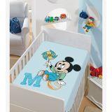 Cobertor de Microfibra Infantil Jolitex - Mickey Catavento