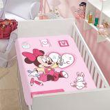 Manta Infantil de Microfibra Disney Sortido Rosa