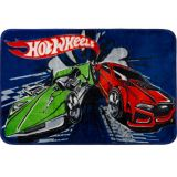 Tapete Infantil Disney Raschel Hot Wheels - Jolitex-Hot Wheels