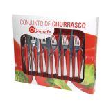 Conjunto para Churrasco Hotel - 12 Peças