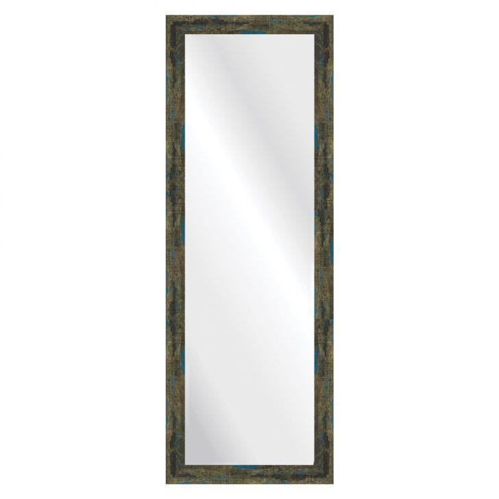 Espelho Demolição Azul 38x108cm DESCONTO DE R$: 130,00 (52,00% OFF) - OFERTA MOBLY