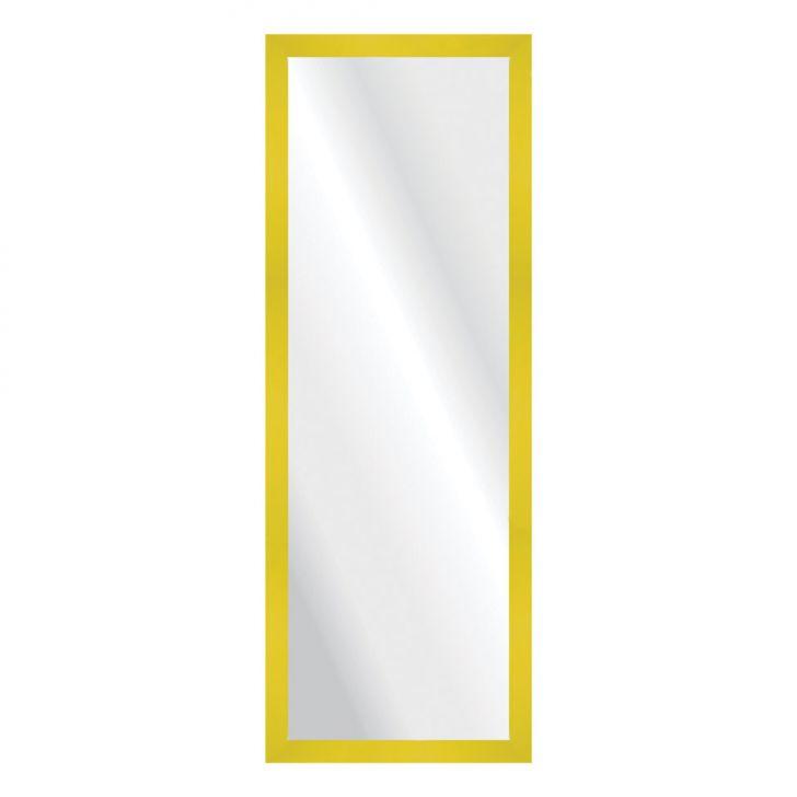 Espelho Savana Amarelo 47x127cm DESCONTO DE R$: 162,00 (52,26% OFF) - OFERTA MOBLY