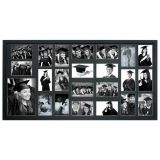 Painel Bee Collection 22 Fotos 10x15cm e 1 15x21cm  50x100cm Preto Kapos