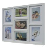 Painel De Fotos Fine  43X52 4 Fotos 10X15 e 3 Fotos 13X18 Branco Kapos