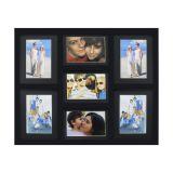 Painel De Fotos Fine  43X52 4 Fotos 10X15 e 3 Fotos 13X18 Pretos Kapos