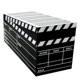 Porta-Controle Claquete 5 Divisões  15x22x8cm Colorido Kapos
