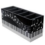 Porta-Controle Music 5 Divisões  10x22x8cm Colorido Kapos
