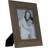 Porta-Retrato 1 Foto 10x15 cm 10 x 15 cm Onda Marrom