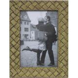 Porta-Retrato 1 Foto Palha 20x25 cm Bege