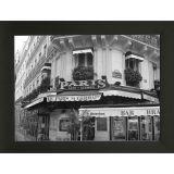Quadro P&B Contemporâneo Café 18 x 23 cm Preto