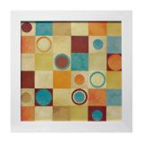 Quadro Square II Branco 35X35 cm Kapos