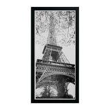 Quadro Torre Eiffel Kapos Preto 54x24cm