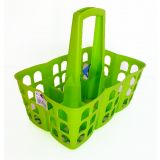 Mini Engradado de Plástico Super Resistente  Verde - Kokken